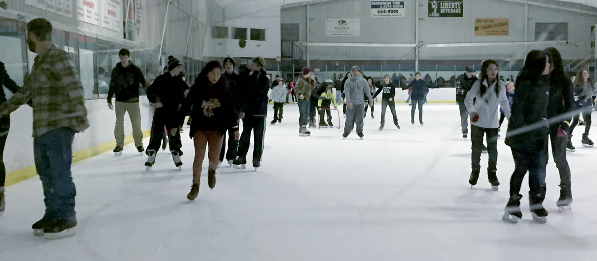 Public Ice Skating Every Saturday Night In Lancaster At Regency Ice Rink!