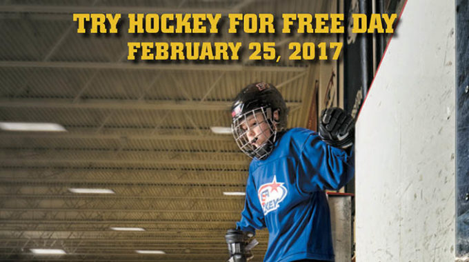 Try Hockey For Free At Regency Ice Rink