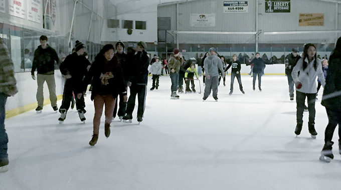 Public Ice Skating In Lancaster At Regency Ice Rink During The Holiday Season!